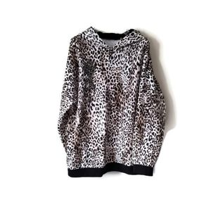 Elie Tahari Sweatshirt Hoodie Crystals sz XL